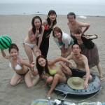 暑い 暑い 熱い三浦海岸