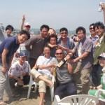 初夏のBBQは三浦海岸2