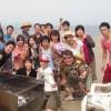 今日もピーカン三浦海岸BBQ