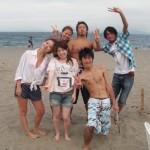 三浦海岸バーベキューと海水浴
