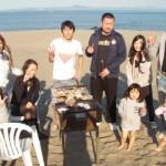 三浦海岸で美味しい楽しいBBQ