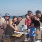休日は三浦海岸で楽しい美味しいBBQ