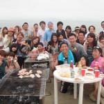 海開き 湘南三浦海岸 BBQと海遊び