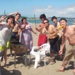 海水浴とバーベキュー三浦海岸、マリンスポーツもたくさん