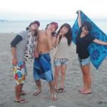 9月三浦海岸BBQと海水浴と海遊び、プライベートビーチ気分