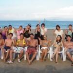 真夏のバーベキューは海水浴と海鮮BBQ