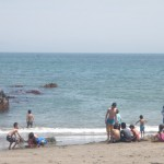 GWの三浦海岸バーベキュー
