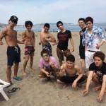 真夏のお天気も明日はお休みで曇ってしまいそうですが、三浦海岸bbqはいつでも快晴気分