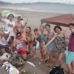 楽しいBBQは三浦海岸