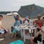真夏のビーチBBQ絶好調