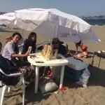 真夏ですか?三浦海岸ビーチBBQ
