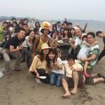 楽しいビーチBBQは三浦海岸