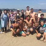三浦海岸の三連休は真夏の海遊び&ビーチBBQ
