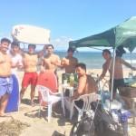 真夏の三浦海岸海水浴とビーチBBQ