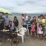 三浦海岸ビーチbbq、週末