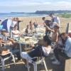 秋の三浦海岸は食欲とスポーツ、ビーチBBQとマリンスポーツ