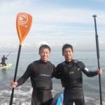 三浦海岸暖かい日した。