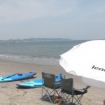 真夏の三浦海岸