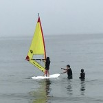 三浦海岸はウインドサーフィンの初心者に最適