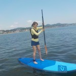 三浦海岸で始めるリラックスなマリンスポーツ、SUP,スタンドアップパドルボード