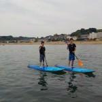 夏の日海の日はSUP2