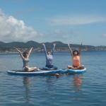 毎日晴天、三浦海岸でたのしいSUP、サップヨガ