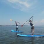 三浦海岸で癒し系マリンスポーツ、SUP