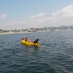 三浦海岸,まるで熱帯のお天気