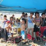 真夏の楽しいビーチBBQIN三浦海岸