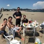 真夏のビーチBBQ