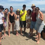 楽しい美味しいビーチBBQは三浦海岸