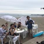 仲間とだったら二倍楽しいビーチBBQ三浦海岸