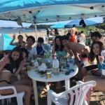 夏空と熱い砂と楽しい仲間とのビーチBBQ三浦海岸