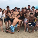 今日も真夏のビーチBBQ,三浦海岸