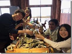 牡蠣小屋&海遊び9
