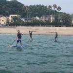 楽しい楽しい三浦海岸でのSUP体験とビーチBBQ