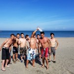まだまだ真夏の三浦海岸