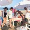真夏の三浦海岸盛り上がってます。