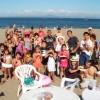 楽しい楽しい真夏に海のバーベキュー