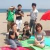 初夏のBBQは三浦海岸