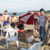三浦海岸バーベキューと海水浴は混んでます