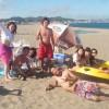 三浦海岸バーベキューと海水浴は今日も快晴