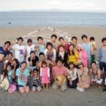 楽しい楽しい三浦海岸BBQと海遊び