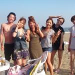 まだまだ続く海水浴&BBQイン三浦海岸