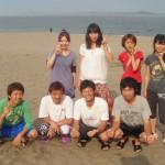湘南 三浦海岸BBQと海水浴