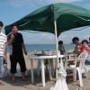 今日もピーカン三浦海岸BBQ みごとな晴れ