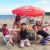 美味しい海鮮BBQはここ三浦海岸 海水浴も