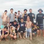 BBQと海遊びが楽しい三浦海岸