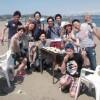 真夏のビーチBBQは三浦海岸で