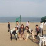 真夏目前 三浦海岸BBQと海水浴